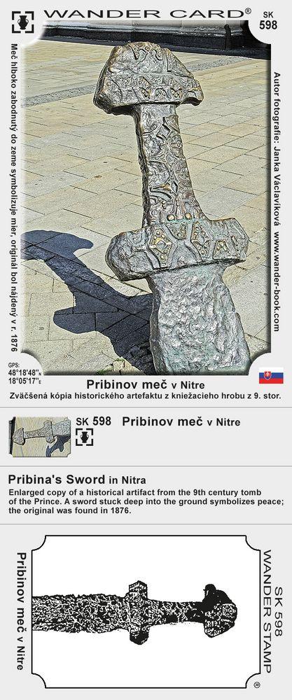 Pribinov meč v Nitre
