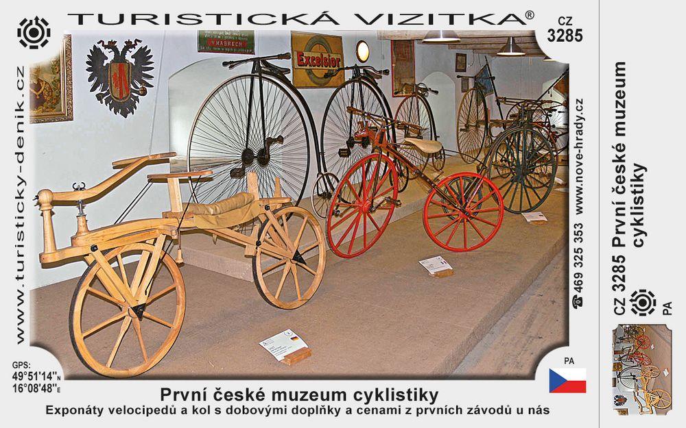 První české muzeum cyklistiky