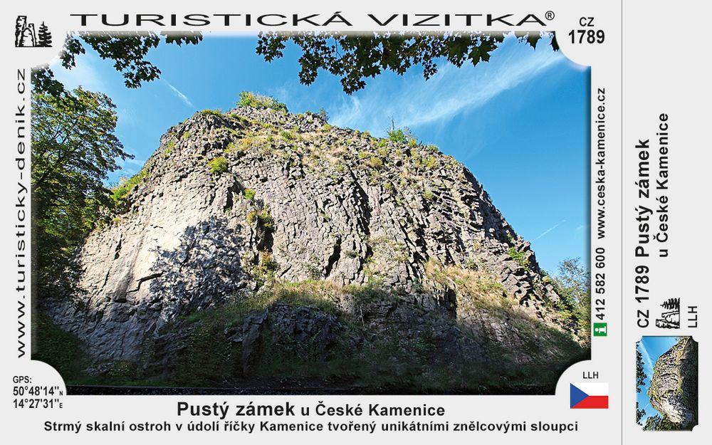 Pustý zámek u České Kamenice