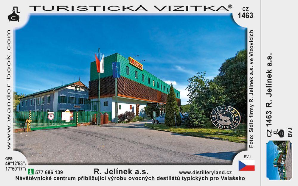 R. Jelínek a.s. – Distillery Land