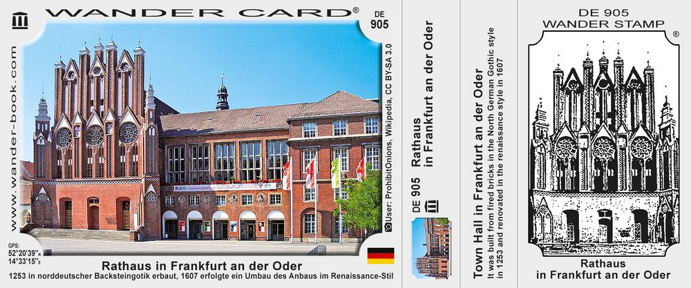 Rathaus in Frankfurt an der Oder
