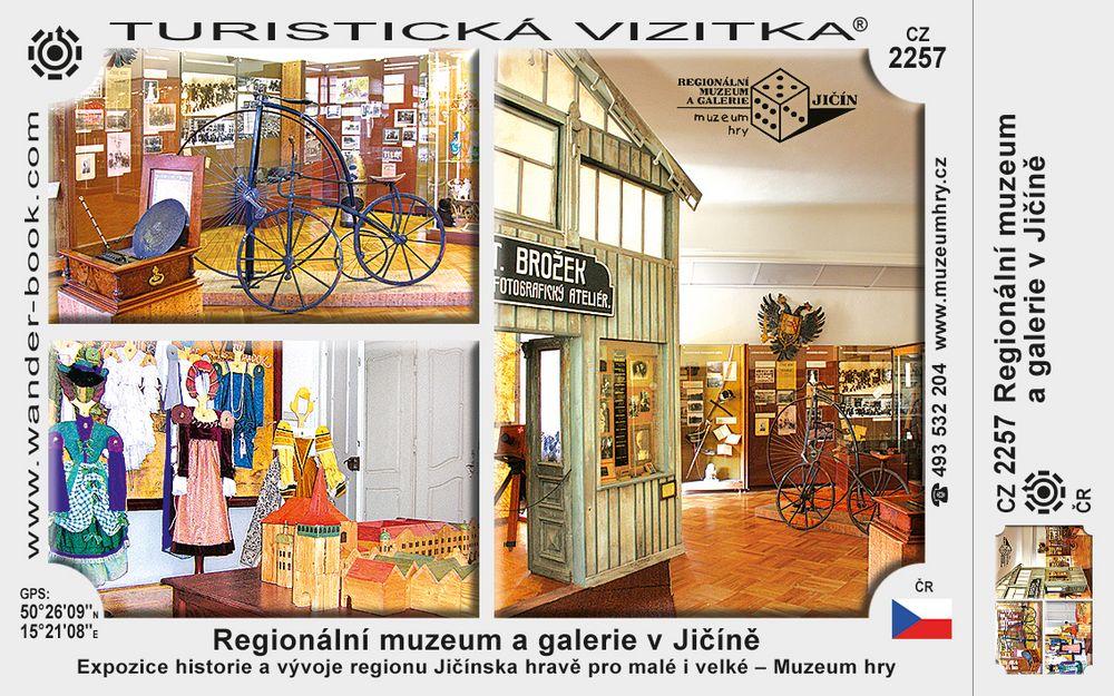 Regionální muz. a galerie v Jičíně