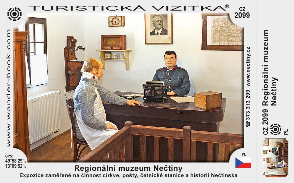 Regionální muzeum Nečtiny