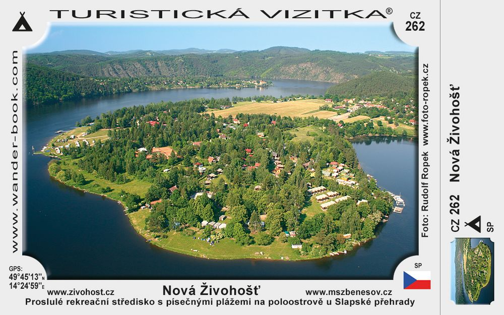 Rekreační areál Nová Živohošť