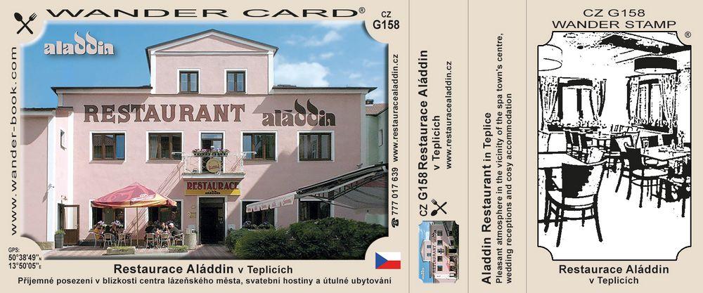 Restaurace Aláddin v Teplicích