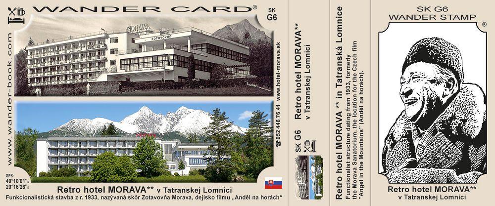 Retro hotel MORAVA** v Tatranskej Lomnici