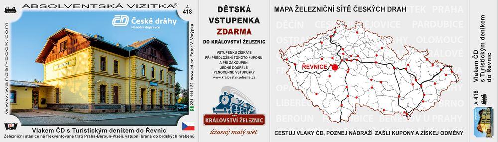 Řevnice nádraží ČD