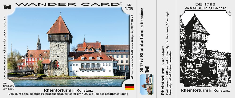 Rheintorturm in Konstanz