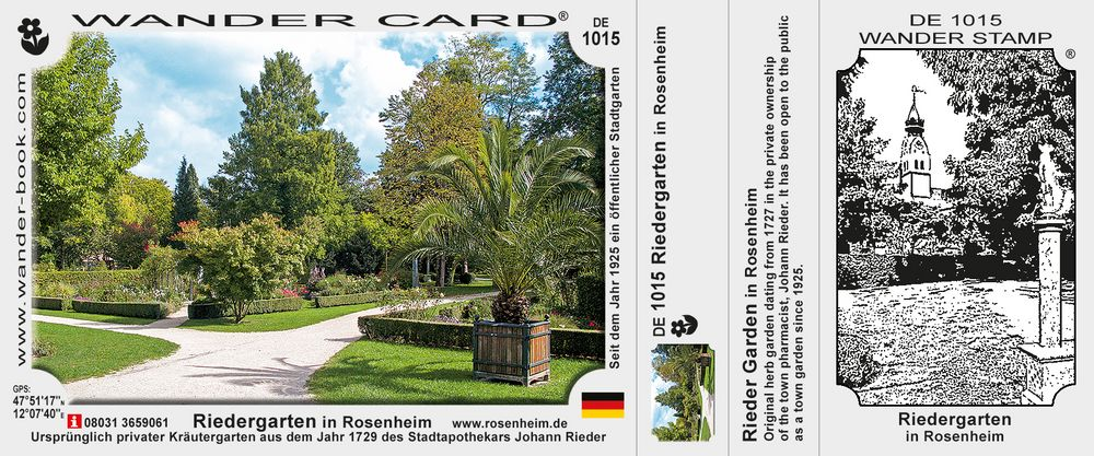 Riedergarten in Rosenheim