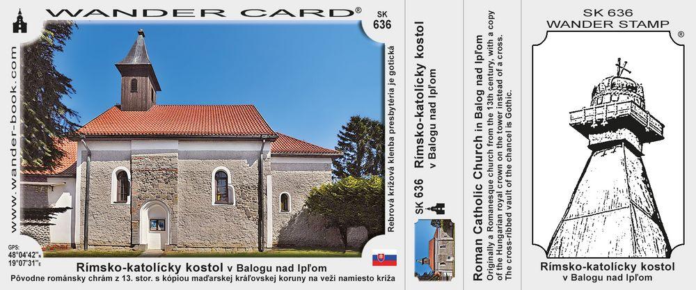 Rímsko-katolícky kostol v Balogu nad Ipľom