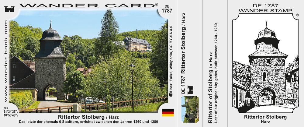 Rittertor Stolberg / Harz