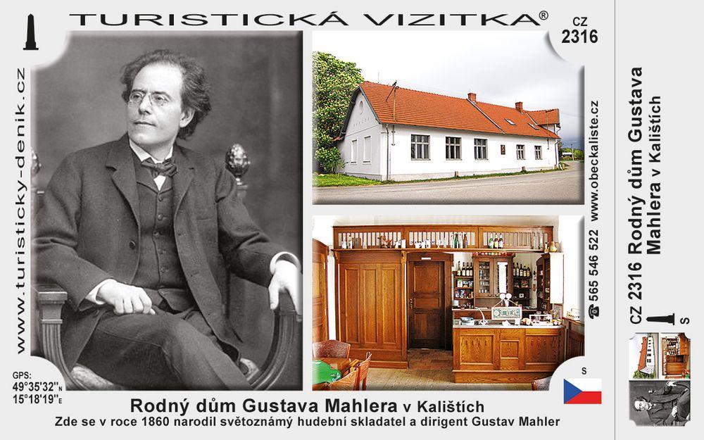 Rodný dům Gustava Mahlera Kaliště