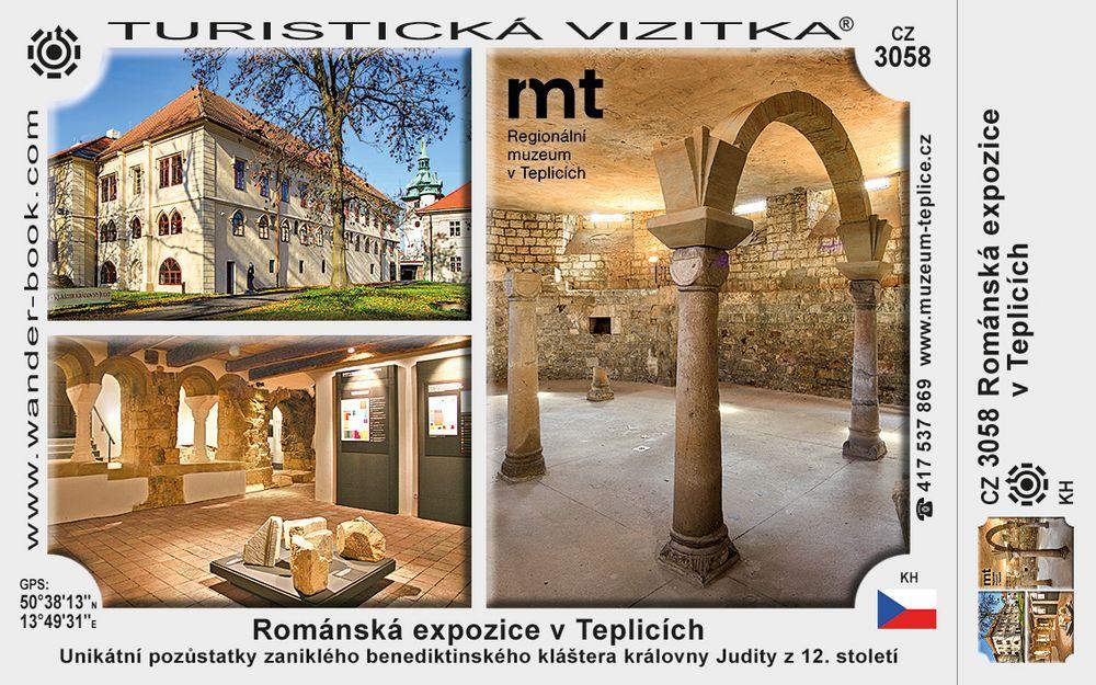 Románská expozice v Teplicích
