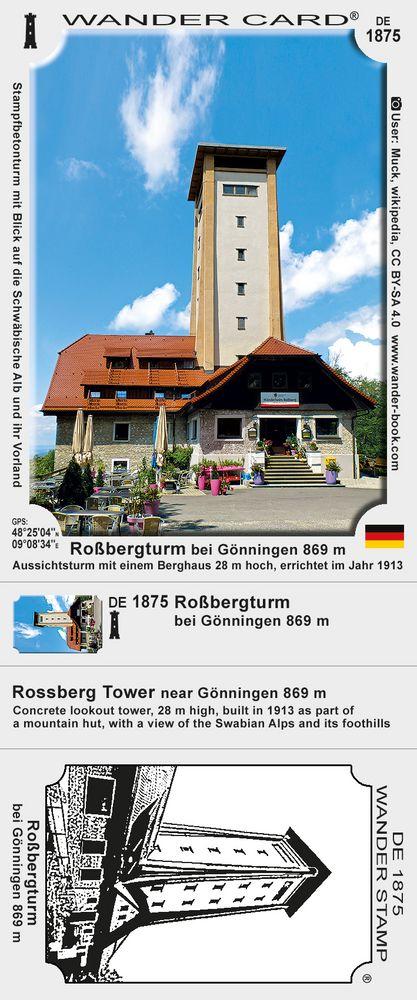 Roßbergturm bei Gönningen