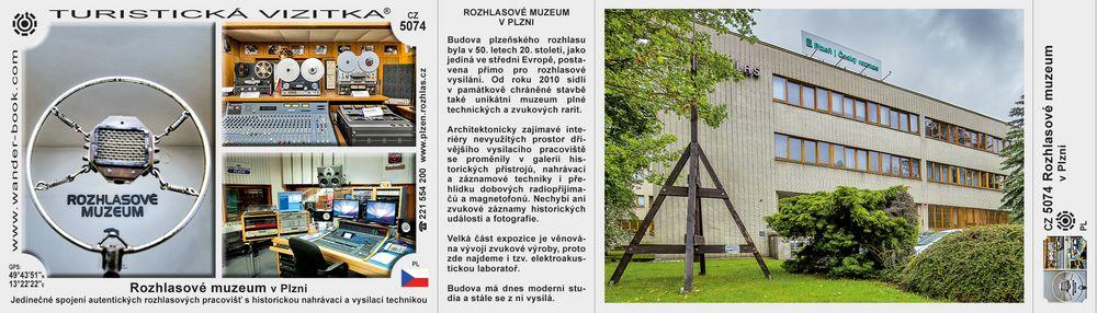 Rozhlasové muzeum v Plzni