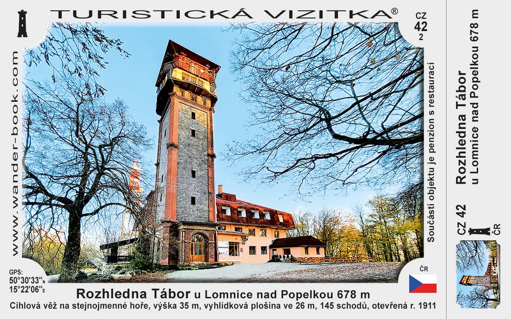Rozhledna Tábor u Lomnice nad Popelkou
