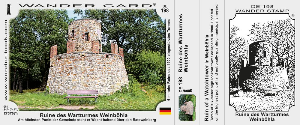 Ruine des Wartturmes Weinböhla