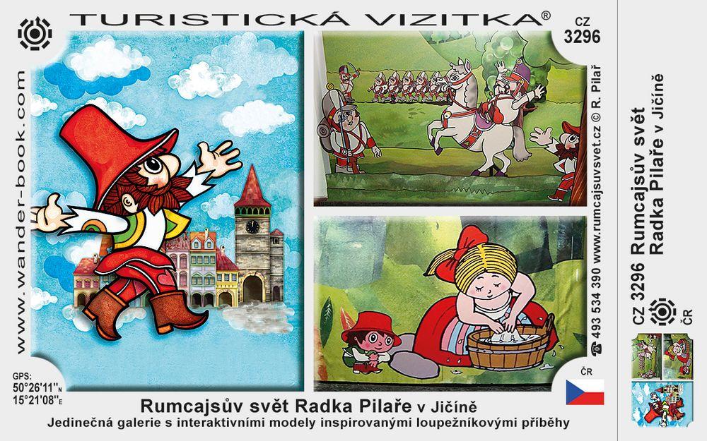 Rumcajsův svět Radka Pilaře v Jičíně