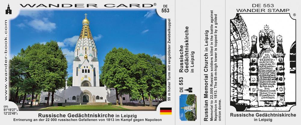 Russische Gedächtniskirche in Leipzig