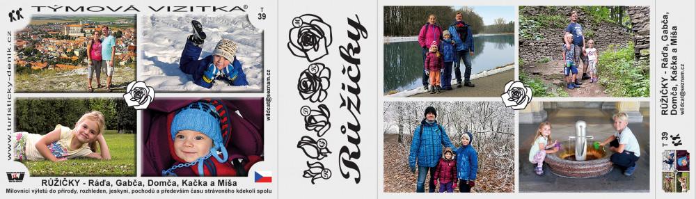 Růžičky - Ráďa, Gabča, Domča, Kačka a Míša