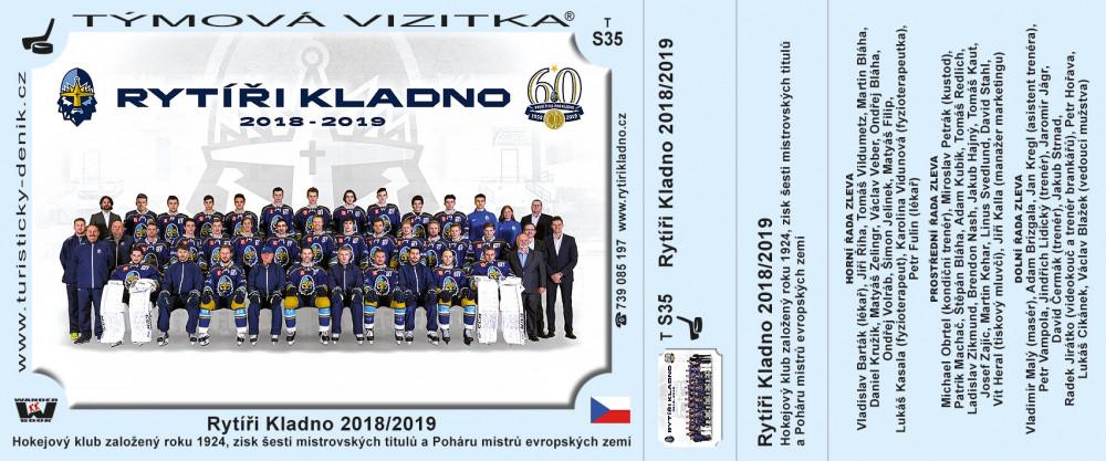 Rytíři Kladno 2018/2019