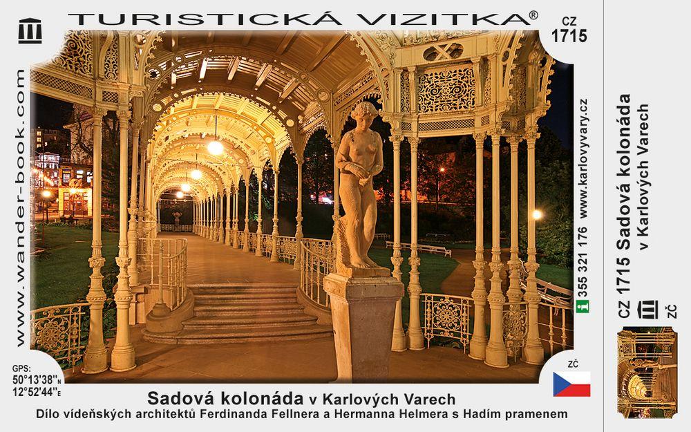 Sadová kolonáda v Karlových Varech