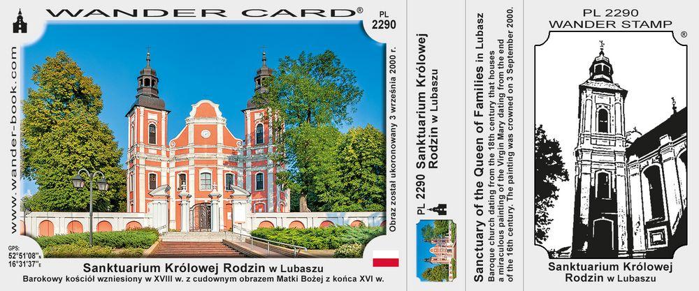 Sanktuarium Królowej Rodzin w Lubaszu