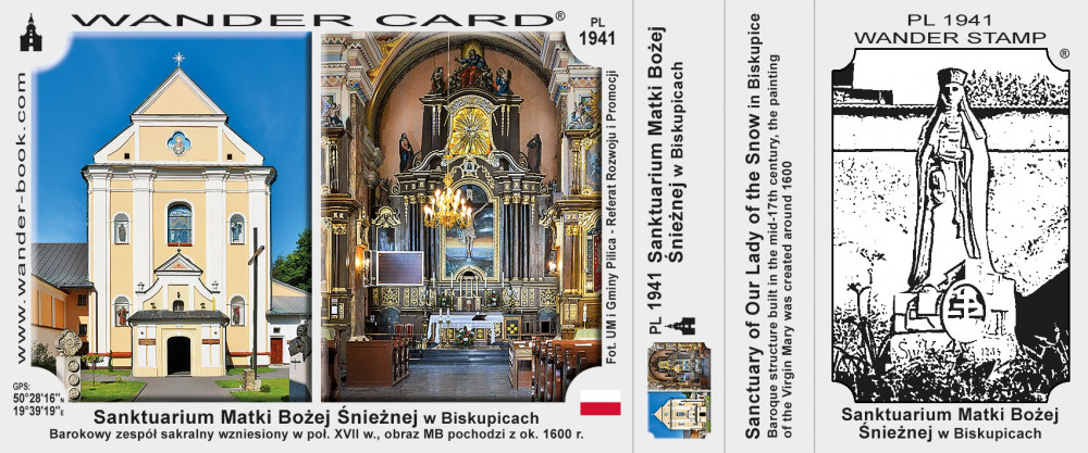 Sanktuarium Matki Bożej Śnieżnej w Biskupicach