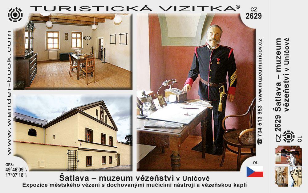 Šatlava - Muzeum vězeňství v Uničově