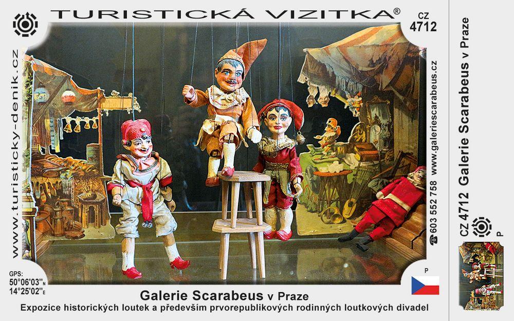 Galerie Scarabeus v Praze