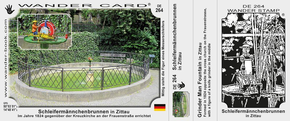 Schleifermännchenbrunnen in Zittau