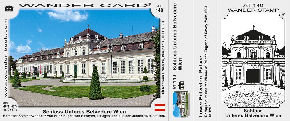 Schloss Unteres Belvedere Wien