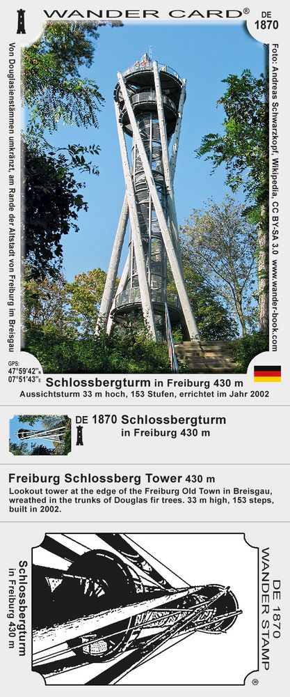 Schlossbergturm in Freiburg
