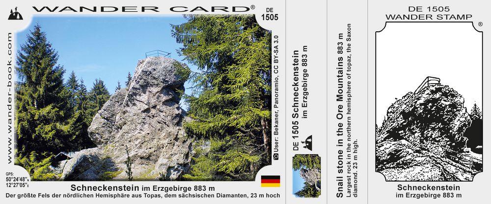 Schneckenstein im Erzgebirge