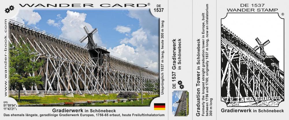 Gradierwerk in Schönebeck