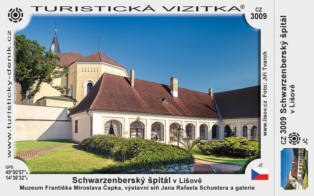 Schwarzenberský špitál v Lišově
