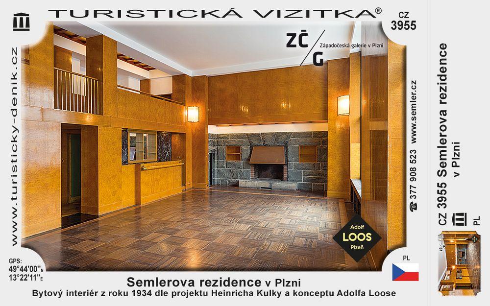 Semlerova rezidence v Plzni