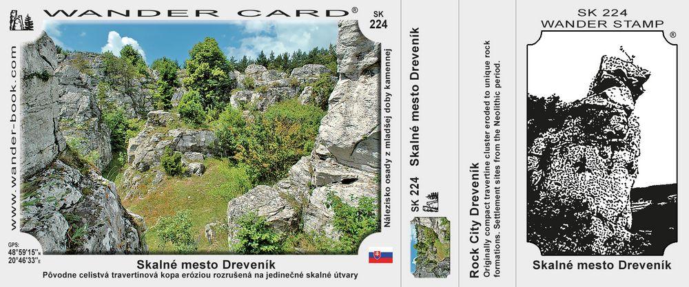 Skalné mesto Dreveník
