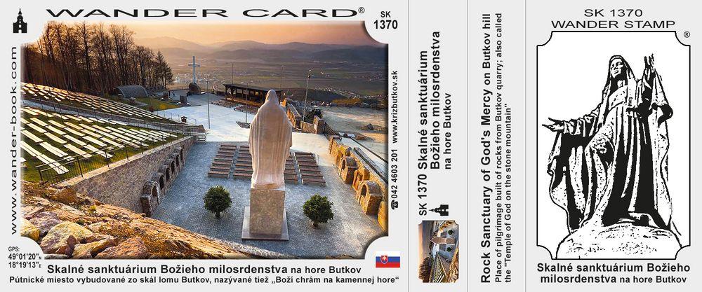 Skalné sanktuárium Božieho milosrdenstva na hore Butkov