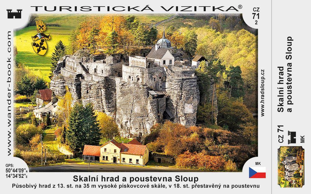 Skalní hrad a poustevna Sloup