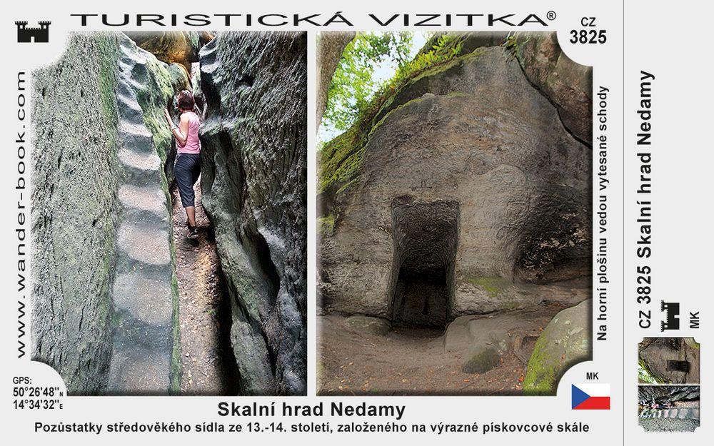 Skalní hrad Nedamy