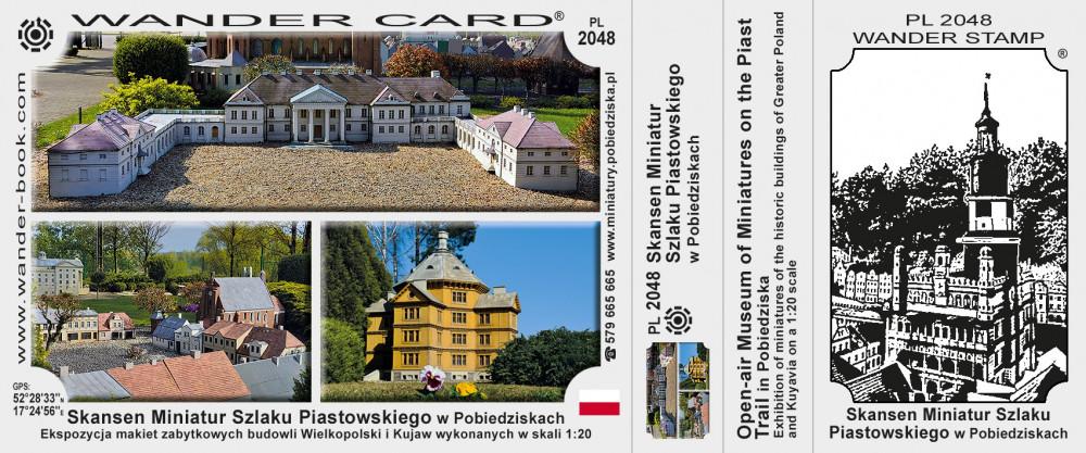 Skansen Miniatur Szlaku Piastowskiego w Pobiedziskach