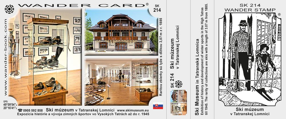 Ski múzeum v Tatranskej Lomnici
