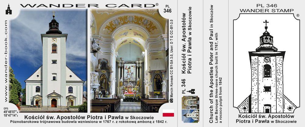 Skoczów kościół św Apostołów Piotra i Pawła