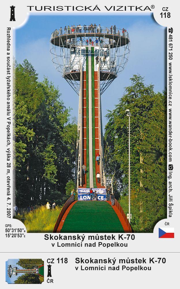 Skokanský můstek K-70 v Lomnici nad Popelkou