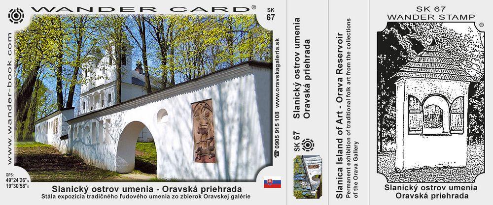 Slanický ostrov umenia – Oravská priehrada