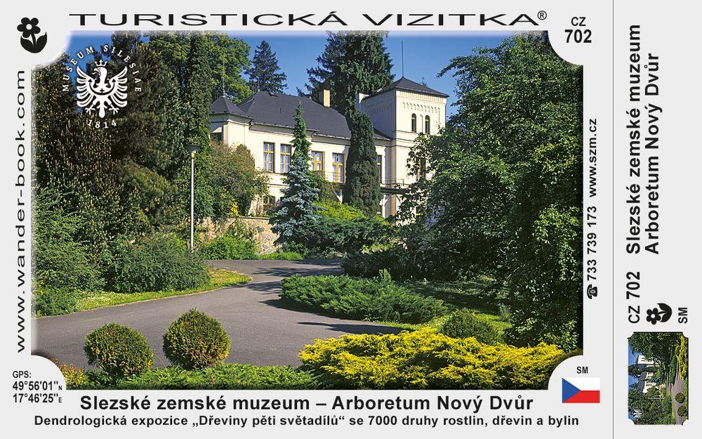 Slezské zemské muzeum – Arboretum Nový Dvůr