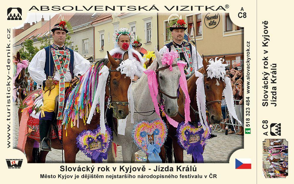 Slovácký rok v Kyjově (srpen jednou za 4 roky)