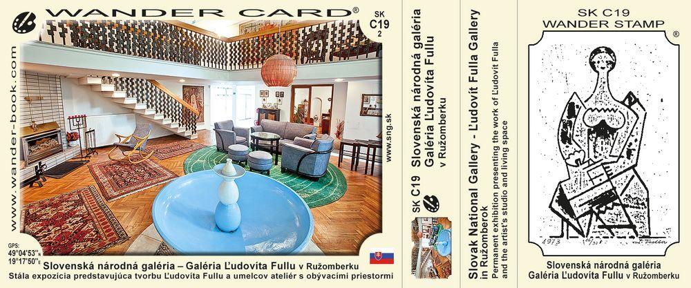Slovenská národná galéria – Galéria Ľudovíta Fullu v Ružomberku