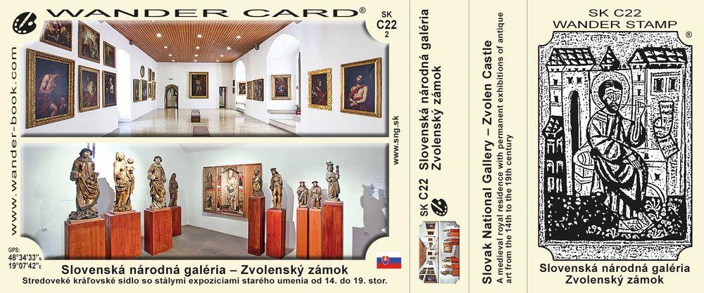 Slovenská národná galéria – Zvolenský zámok